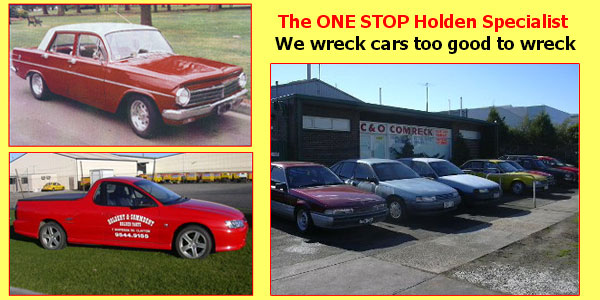 Wreckers Melbourne Wreckers Who Specialise In Parts Services Holdens
